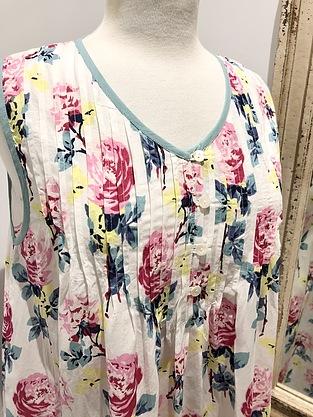 more on Cotton Nightie MND 777P  Cotton nightie 48 inch Peony print