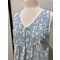 more on Cotton Nightie MND 777B  Cotton nightie 48 inch Blue lotus print