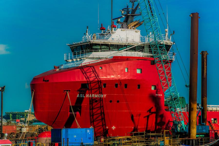 Offshore Marine Services Australia : Asl harmony for operations in australia morgan marine