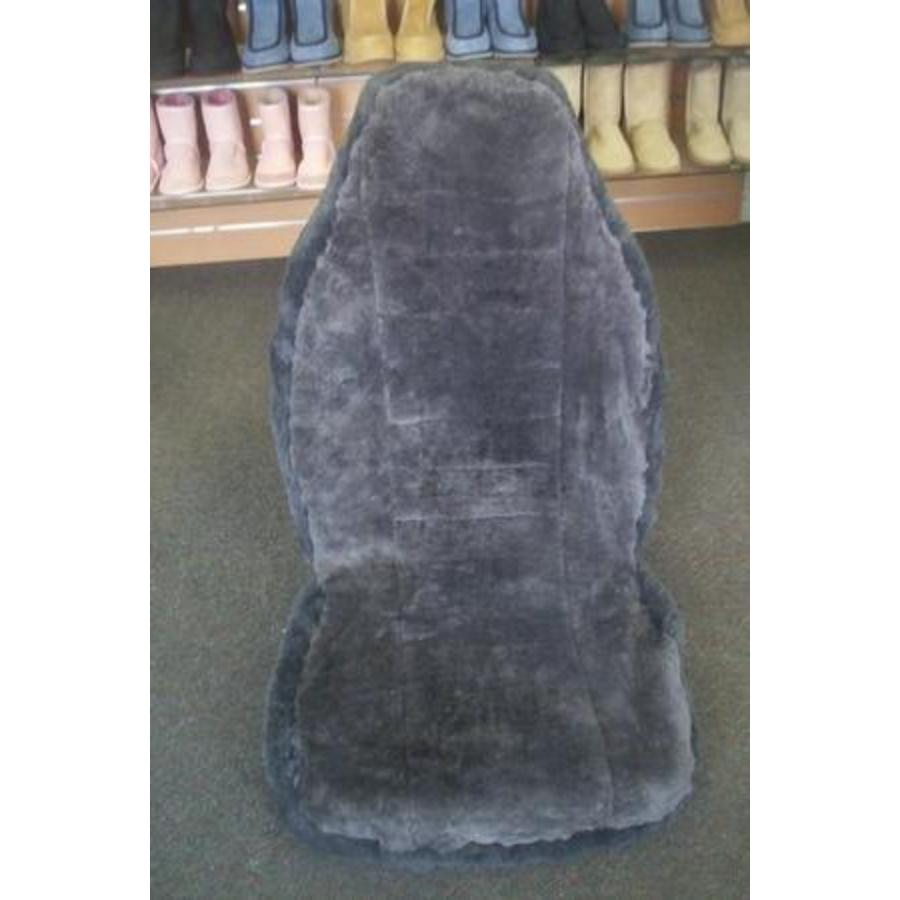 Short Wool Hooded Car Seat Cover - Image 3