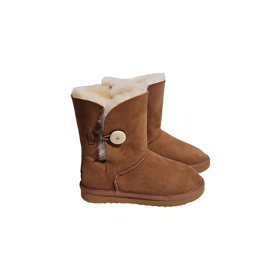 Classic Mid Calf Button Boot - Image 1