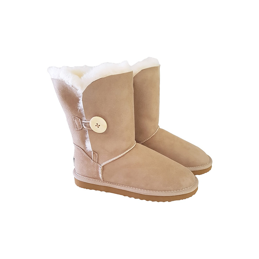 Classic Mid Calf Button Boot - Image 2