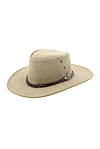 more on Jacaru Leather Hat Sand