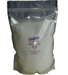 Part ID MSM1000 MSM Pure Organic Sulfur 1kg Double sealed Ziplocked Standup Bag.    PLUS FREE SAMPLE of TRUE Himalayan Salt