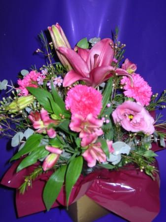 more on Posy Box Arrangement