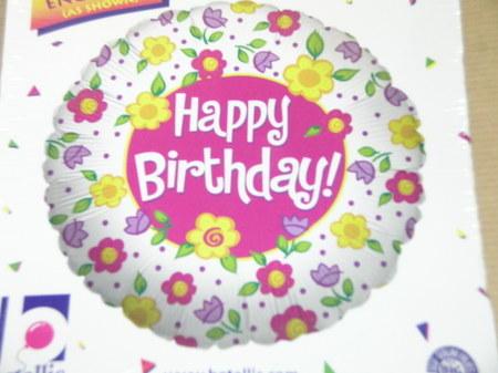 more on Birthday Balloon