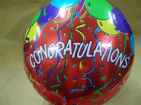 more on Congratulations Balloon