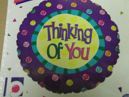 more on Thinking of You Balloon