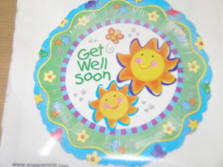 more on Get Well Balloon