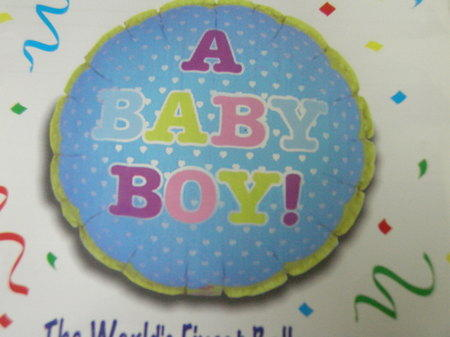 more on Baby Boy Balloon