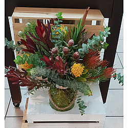 more on Wildflower Bouquet in Vase