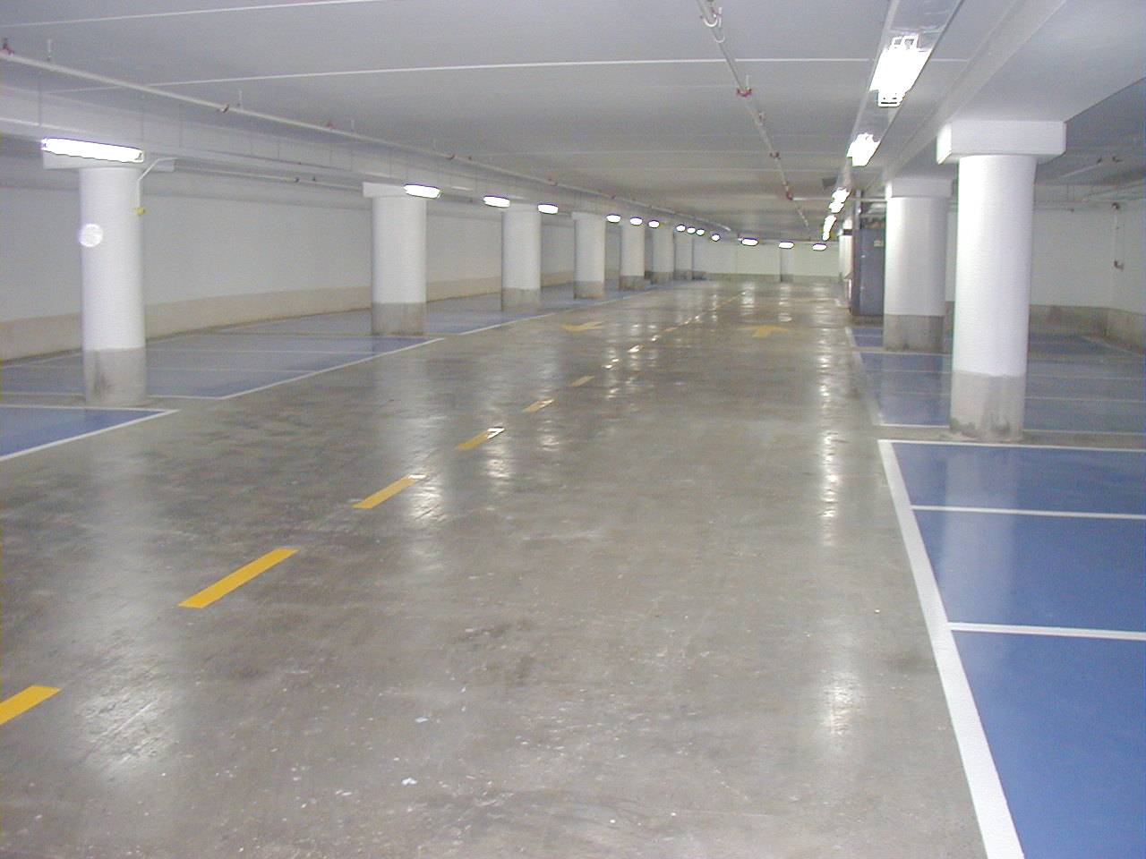 Liqui Hard concrete densifier dust proof Car Park