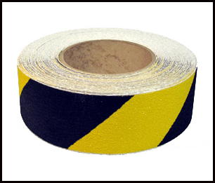 Anti Slip Black yellow Tape