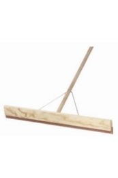 Concrete Floor Squeegee 762mm With Wooden Handle and Bracket