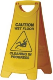 Wet Floor Sign with Handle