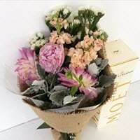 Bouquet & Champagne by A Touch Of Class Florist Perth