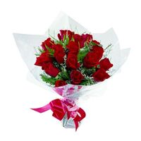 Compact Posy of Roses - A Touch of Class Florist Perth