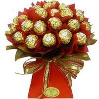 Ferrero Rocher Chocolate Bouquet - A Touch of Class Florist Perth