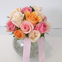 Rose Vase Arrangement by A Touch Of Class Florist Perth