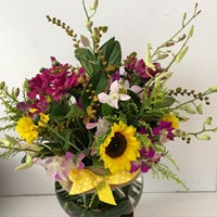Sunflower Vase Arrangement by A Touch Of Class Florist Perth