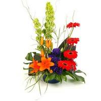 Funky - modern arrangement of flowers