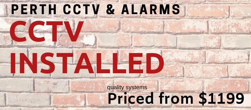 CCTV Installation Deals in Kelmscott Perth - 3 Channel 4MP Hikvision CCTV Camera System Install