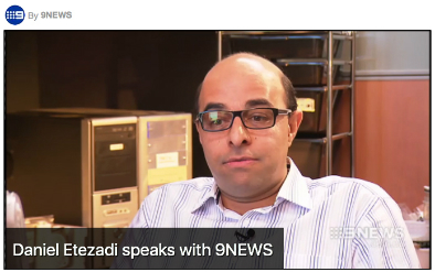 Daniel Etezadi speaks with 9NEWS