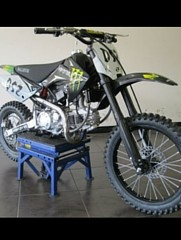 more on ballistic dirt bikes