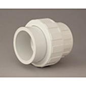 "c. PVC Barrel Union Coupling 25mm (1"")"