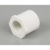 "PVC Threaded Bush Reducing 25 mm x 15 mm (1"" x 1/2"")"