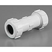 "PVC Compression Coupling 25mm (1"")"