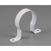 "Powder Coated Saddle Clips for DWV Stand Off 65mm (2 1/2"")"