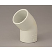 "b. PVC Elbow 45° 20mm (3/4"")"