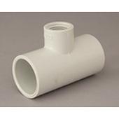 "2a. PVC Faucet Tee 20mm x 15mm (3/4"" x 1/2"") BSPF"