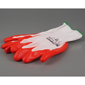 Nitrile Dipped Cotton Gloves Large