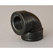 "Poly Elbow FF 40mm (1 1/2"")"
