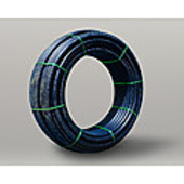 Poly Pipe Metric (blue line)  32 mm PN 16, SDR 11 PE 100, 200 Metre Coil