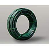 "Poly Pipe Rural (green line) 2""  100 metre coil *Limited Stock*"