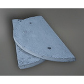 Heavy Duty Concrete Septic Tank Cover Suits 1500 mm Tank, 1650 mm OD, Split Lid