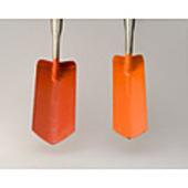 "Trench Shovel 4"" Orange Colour"