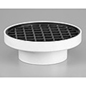 D. Stormwater Finishing Collar and Grate Rectangle 190mm x 150mm to 90mm Pipe