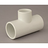 "4c. PVC Reducing Tee 50mm x 40mm (2"" x 1 1/2"")"