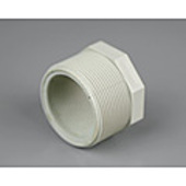 "PVC Threaded Plug 32mm (1 1/4"") BSP"