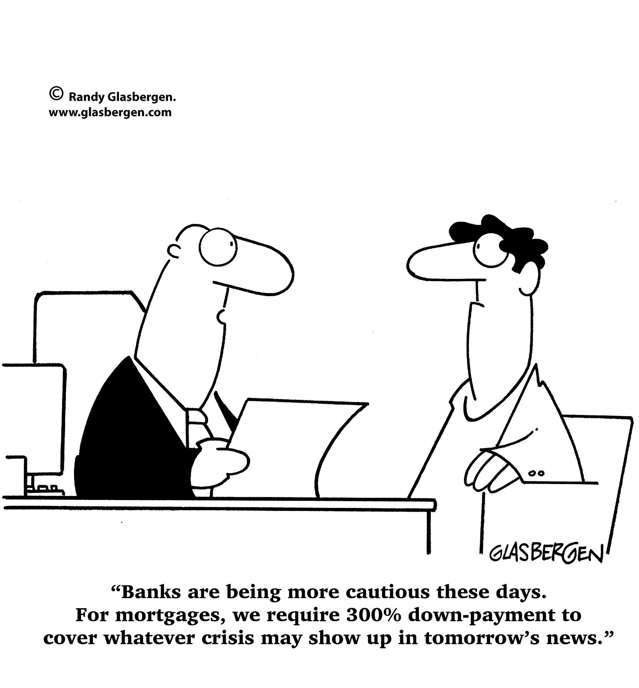 Cautious Banks