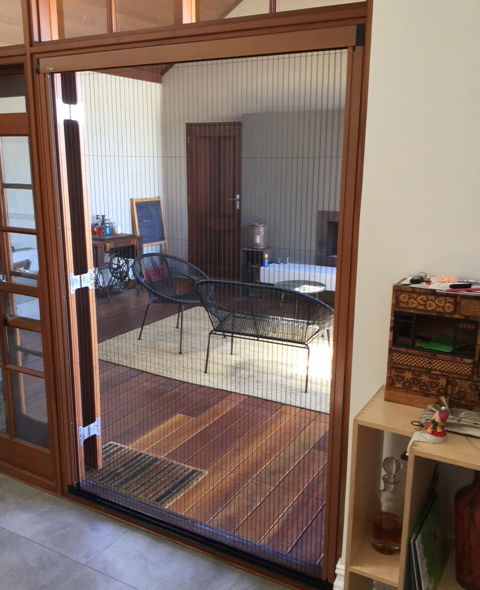 Screen for French Doors in North Perth