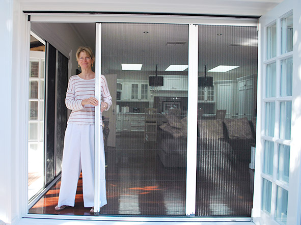 Retractable Fly Screens For Bifold Doors Retractable Fly Screens