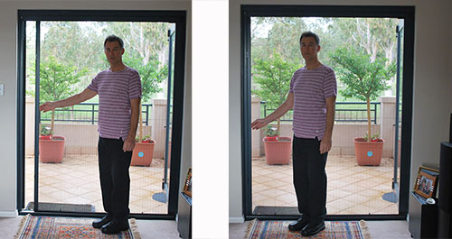 Retractable Insect Screens For French Doors Retractable Fly