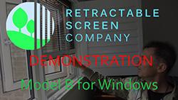 Model B for windows video demonstration
