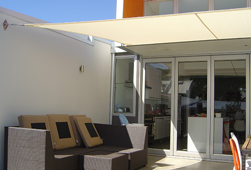 Shade Sail balcony deck