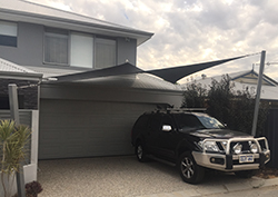 Shade Sail carport